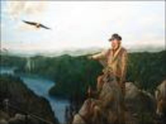 John White goes to Roanoke