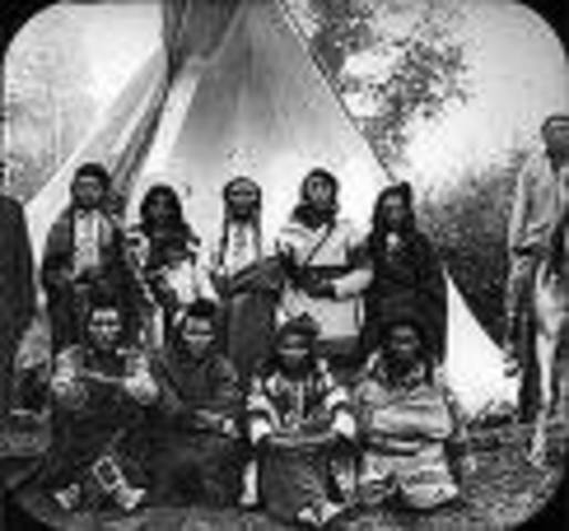 American Indians tribes are mainly made