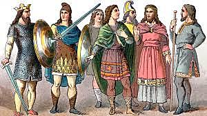 The first event: Anglo Saxons