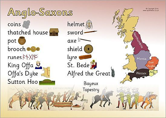Anglo Saxon vocabulary