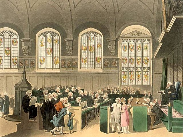 The seventh event: English in the Law Courts
