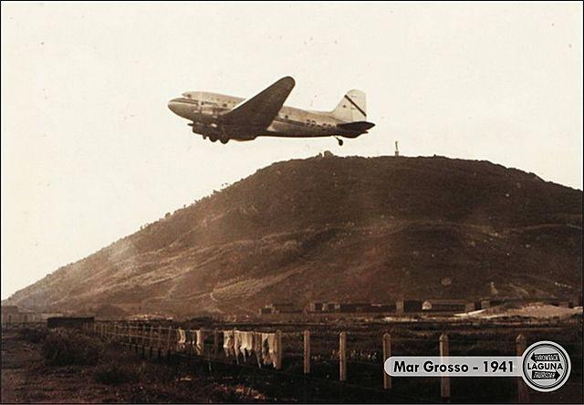 Mar Grosso - Avião da Empresa TABA