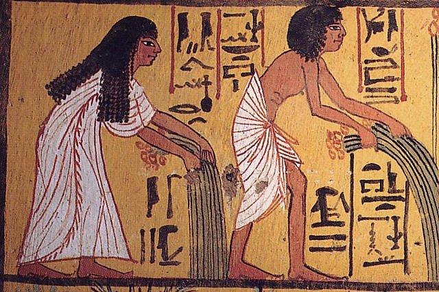 Scrittura in Egitto