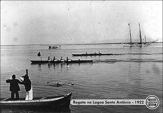 Regata na Lagoa Santo Antônio dos Anjos