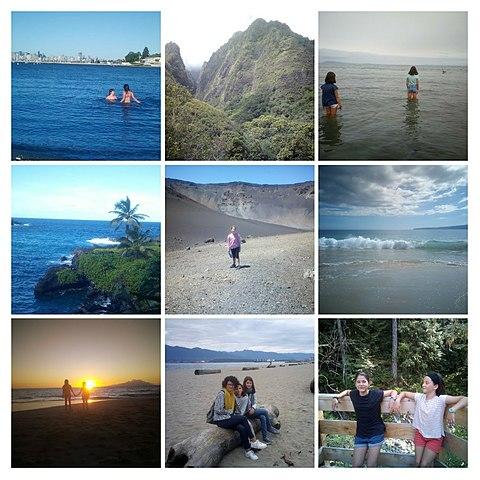 Viatge a Vancouver, Hawaii, sunshine coast..