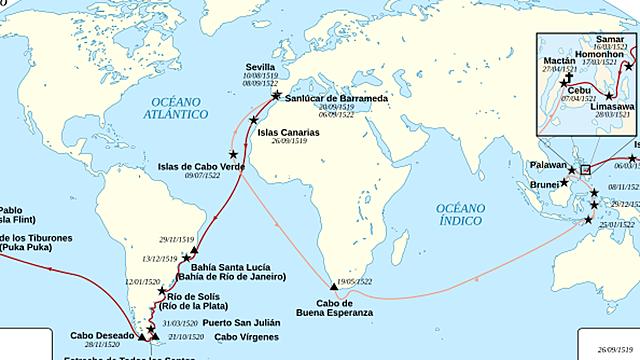 1492 Nuevas Rutas Comerciales