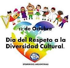 Dia del Respeto a la Diversidad Cultural