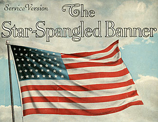 The Adoption of the Star Spangled Banner as the National Anthem