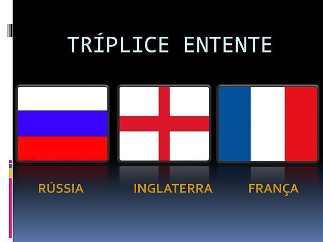 A formação da tríplice Entente(1907)