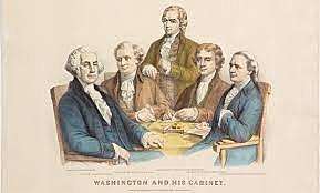 Washington Creates Presidential Cabinet