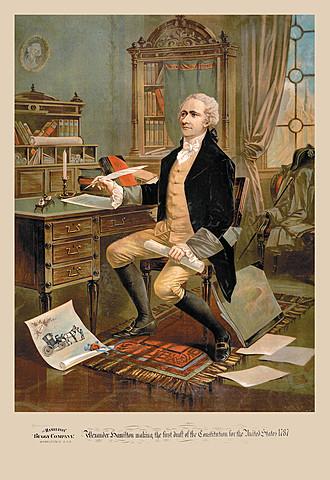 Alexander Hamilton Gets Congress to Approve National Bank