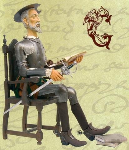 Don quijote y el ladron