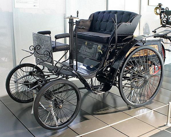 Benz «Velo» и первые автомобильные гонки