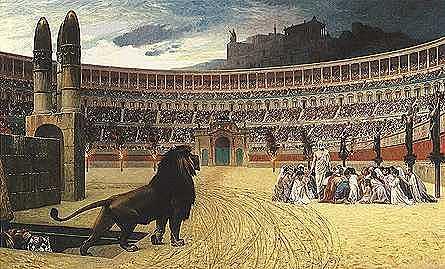 Nerón incendia roma culpa a los cristianos