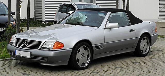 1990-е и новый Mercedes-Benz R129