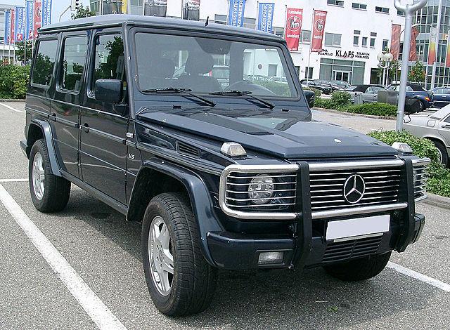 Обновленный Geländewagen