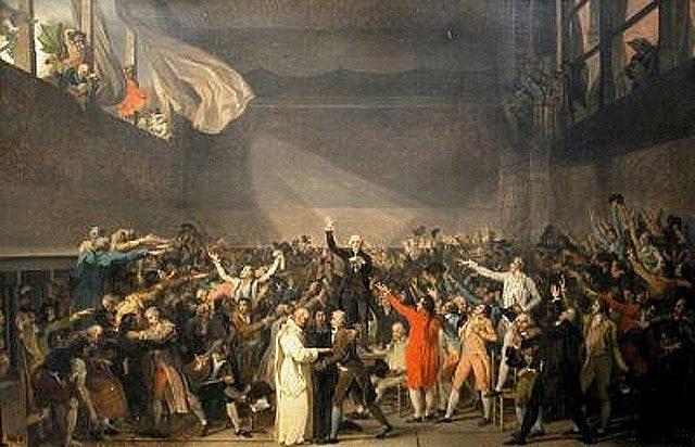 Inici de la Revolució Francesa