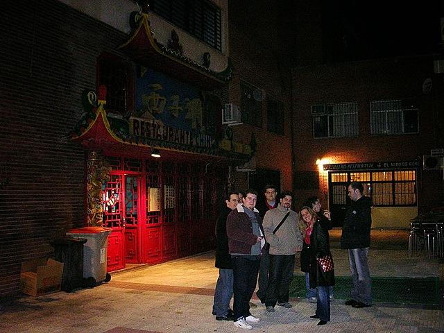 Laura va a su primer restaurante chino