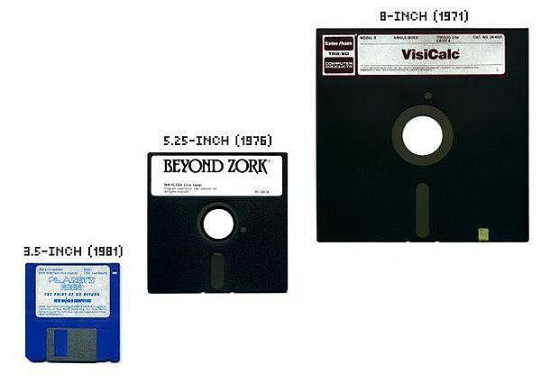 Изобретение гибкого диска