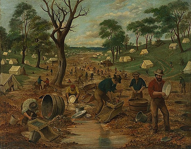 The Start of the Gold Rush