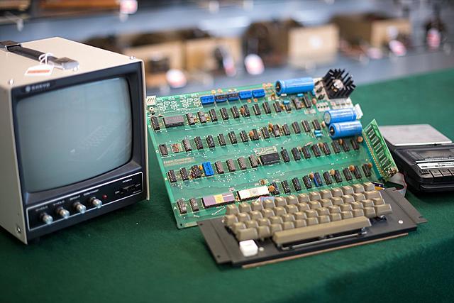 Первый компьютер с одноконтурной платой
