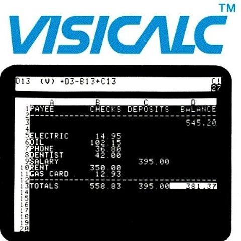 Первая компьютизированная программа электронных таблиц