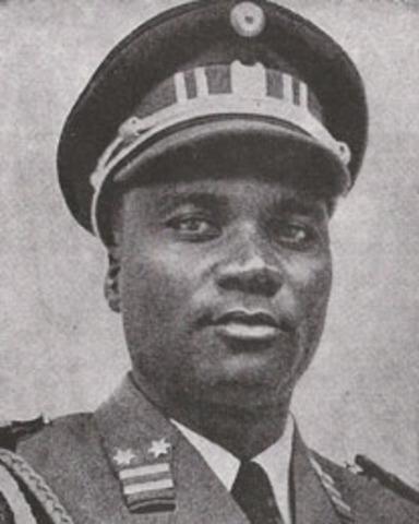 Kayibanda Overthrown - Habyarimana becomes new President