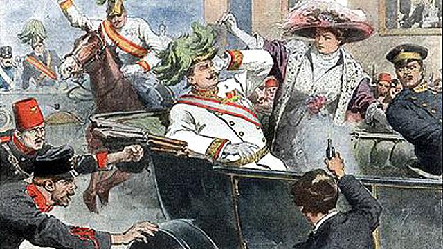 Assassinato do arquiduque Francisco Fernando(1914)
