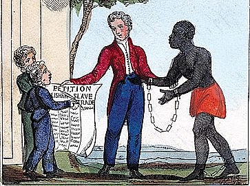 International slave trade is outlawed.