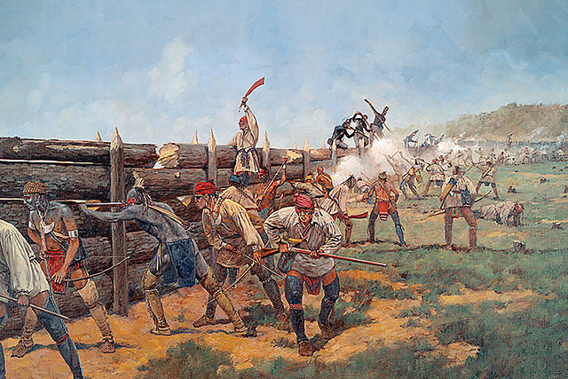 Battle of Horseshoe Bend.