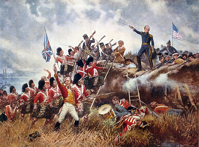 Battle of New Orleans.