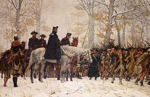 The Winter at Valley Forge
