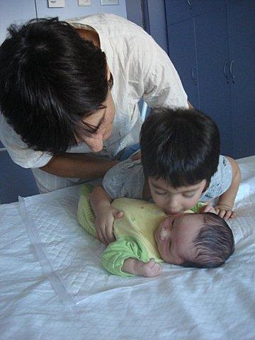 Naixement del meu germà Quim