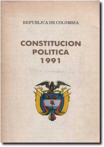 Nueva constitución política de Colombia.