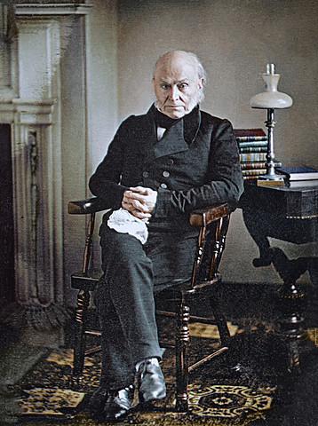 John Quincy Adams (Democratic Republican) Elected 6th President