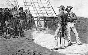 British Impressment of US Sailors