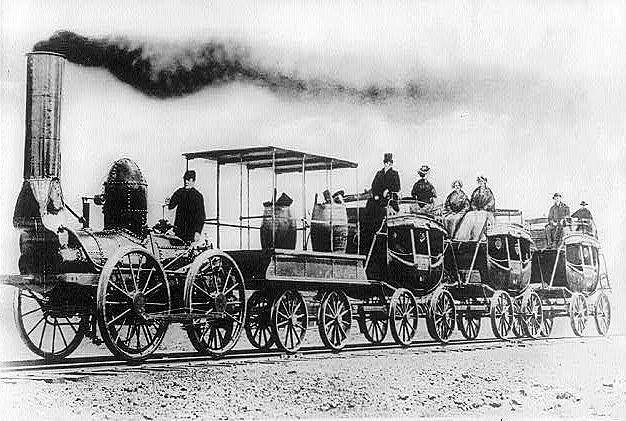 Steam Locomotive Invented in Great Britain