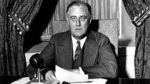 FDR's First Fireside Chat
