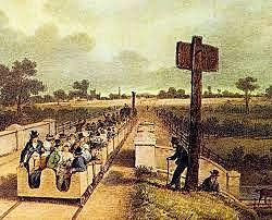 Primeira liña de ferrocarril