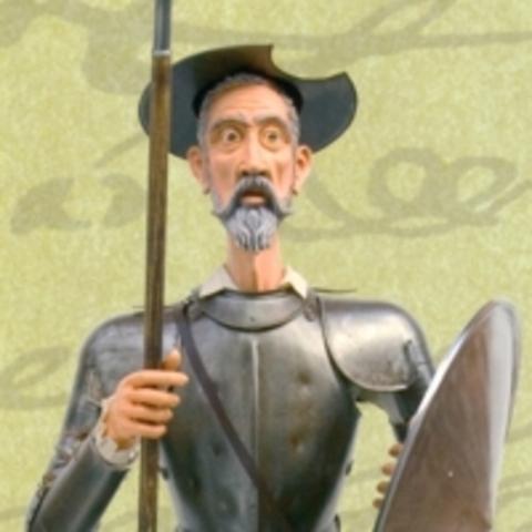 Don quijote de nuevo confundido