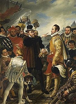 Comienzan los conflictos con los protestantes en los Países Bajos