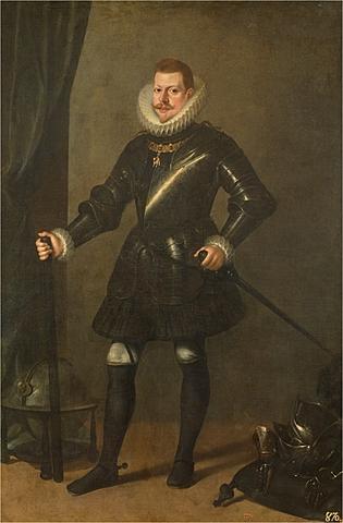 Hereda el trono Felipe III