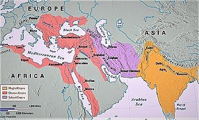 The spread of Islam