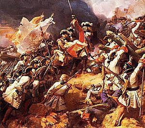 Tercera Guerra contra Francia. Invasión francesa en Cataluña en 1691