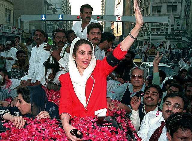 Benazir Bhutto is assassinated in Pakistan
