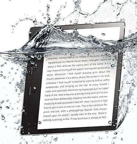 Kindle Oasis 2nd generation.