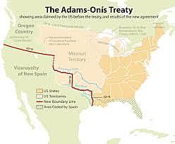 Adam- Onis Treaty/ Spain Ceded Florida to U.S.