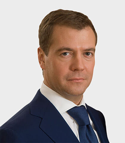 Dmitry Medvedev is elected president of Russia