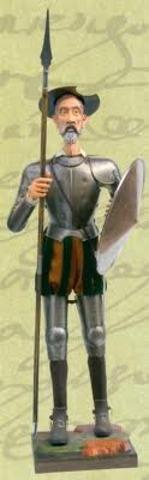 Don Quijote es nombrado caballero oficialmente