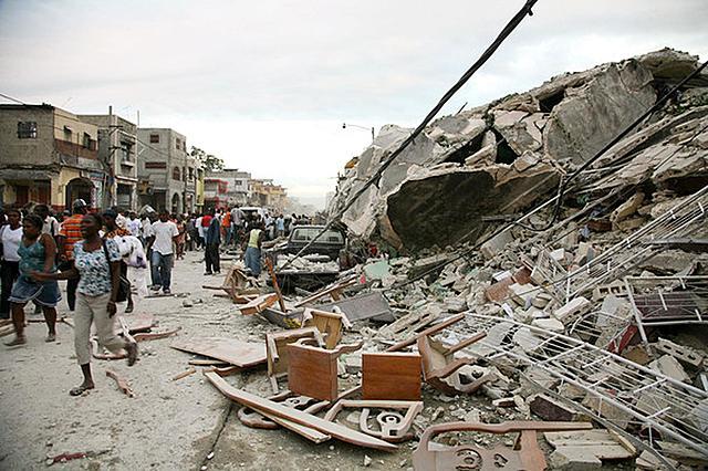 Haiti is struck by a devastating earthquake.